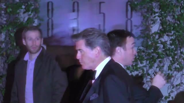 Pierce Brosnan outside the Sunset Tower in West Hollywood in Celebrity Sightings in Los Angeles