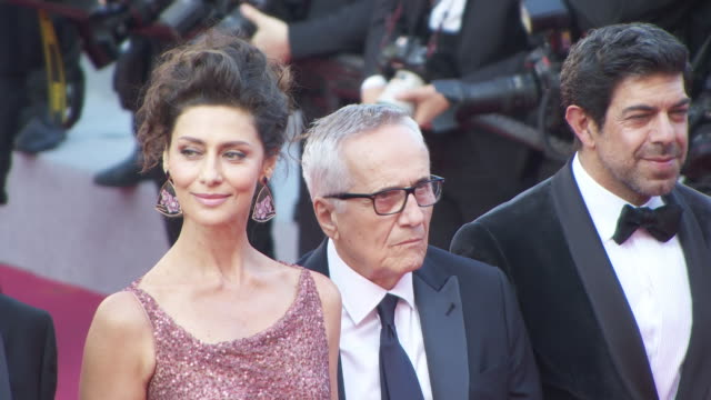 Pierfrancesco Favino Marco Bellocchio Luigi Lo Cascio Maria Fernanda Candido Fabrizio Ferracane Fausto Russo Alesi at 'The Traitor ' Red Carpet...