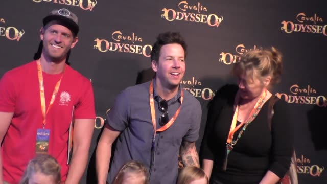 pierre bouvier at the premiere of cavalia's odysseo at the white big top in irvine at celebrity sightings in los angeles on february 06, 2016 in los... - irvine verwaltungsbezirk orange county stock-videos und b-roll-filmmaterial