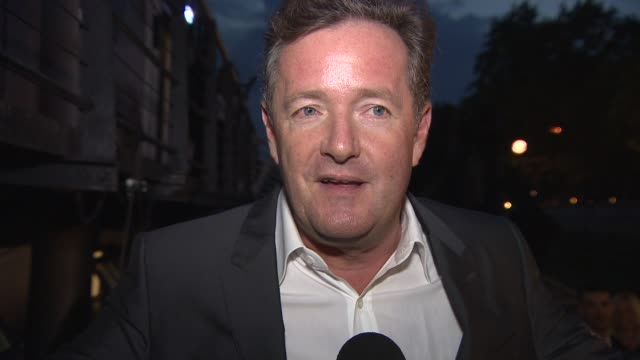 interview piers morgan on keeping the union and making peace with jeremy clarkson at sexy mac launch party at hms president on september 18 2014 in... - jeremy clarkson stock videos & royalty-free footage
