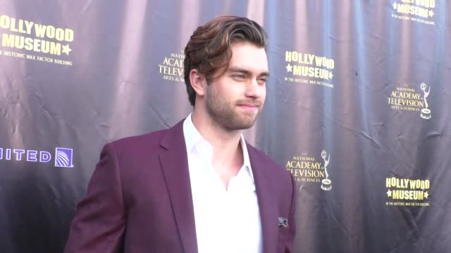 Pierson Fode at the 2016 Daytime Emmy Awards Nominees Reception at The Hollywood Museum in Hollywood Celebrity Sightings on April 27 2016 in Los...