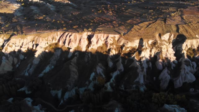 pigeon valley rock formation in cappadocia, turkey - valley stock videos & royalty-free footage