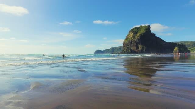 Piha Beach.