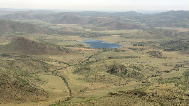 Pilanesberg National Park  - Aerial View - North-West,  South Africa