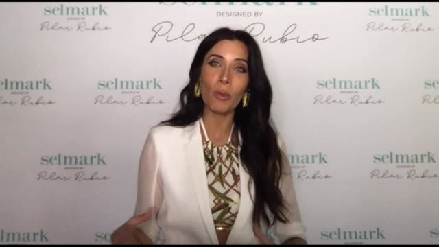 ESP: Pilar Rubio Presents Selmark New Swimwear Collection