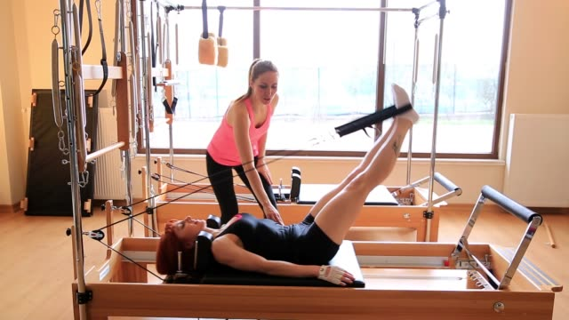 pilates class - pilates stock videos & royalty-free footage