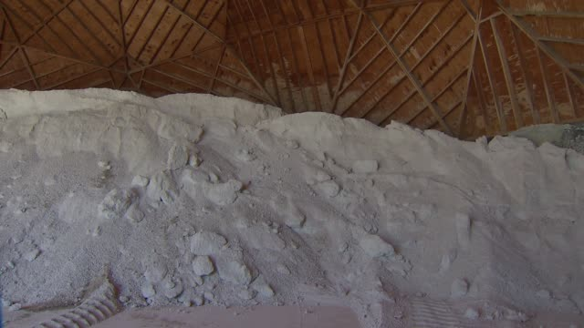 Pile Of DeIcing Salt