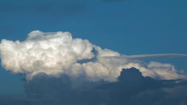 Pileus clouds, timelapse