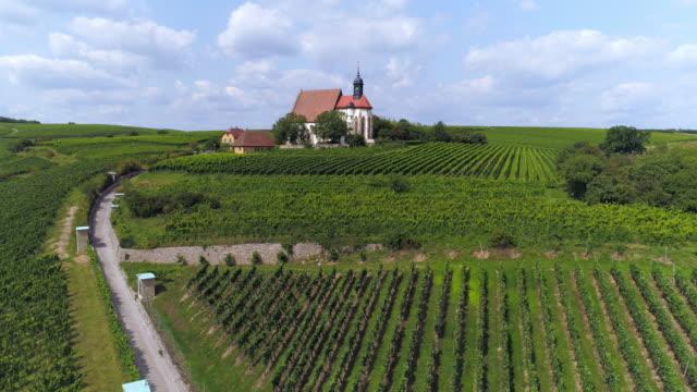 Pilgrimage Church Maria im Weingarten (St. Mary in the Vineyard) near Volkach in Franconia