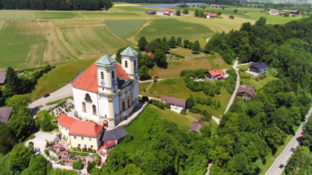 Pelgrimtochten kerk van Marienberg in de buurt van Schiermonnikoog In Beieren