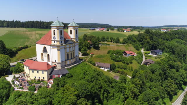 Pilgrimage Church Of Marienberg Near Burghausen In Bavaria