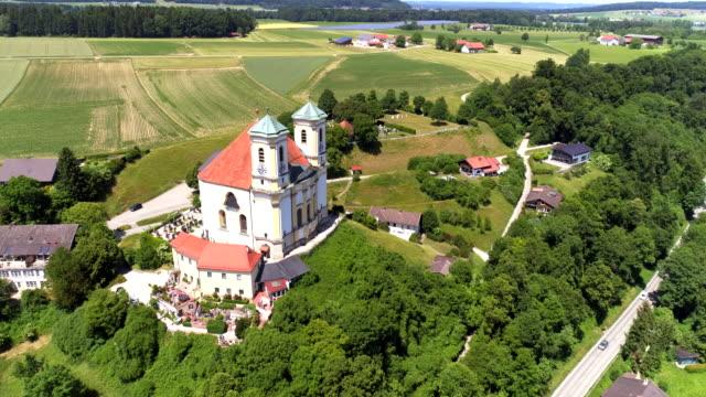 Pilgrimage Church Of Marienberg Near Burghausen In Upper Bavaria