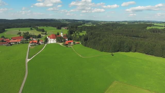 Pilgrimage Church Of Wies In Bavaria