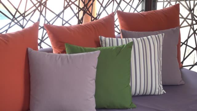 Besonderen Dekoration auf Sofa