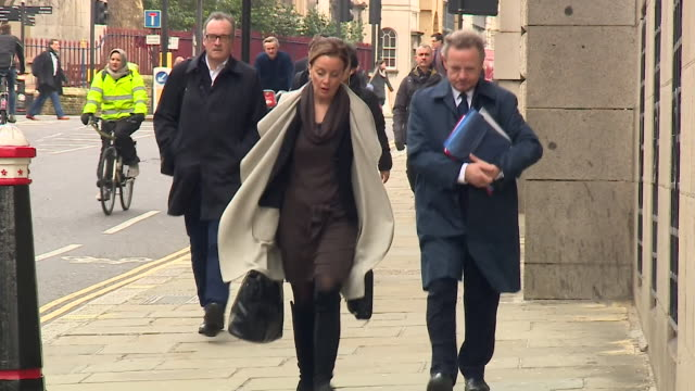Pilot Andrew Hill arrives at Old Bailey to give evidence at his trial regarding the 11 deaths at the 2015 Shoreham Air Show plane crash