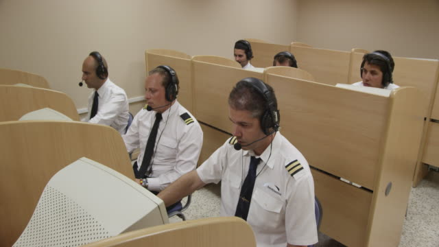 HA DS pilot training class; radio communication simulator, RED R3D 4k