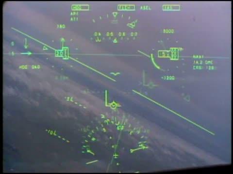 stockvideo's en b-roll-footage met pilot utilizes computerized tech for flying. - pilot