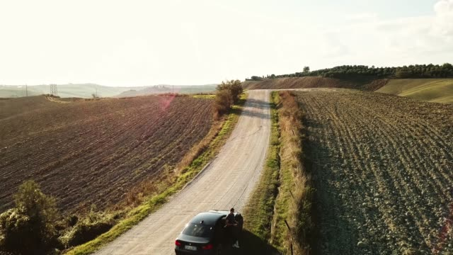 piloting a drone in the countryside - radio controlled handset stock videos and b-roll footage