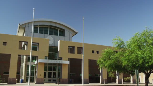 pima county juvenile court - courthouse stock videos & royalty-free footage