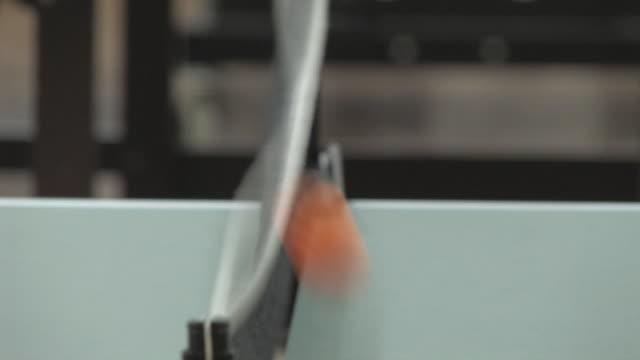 ping pong 6 - hd 30f - table tennis bat stock videos & royalty-free footage