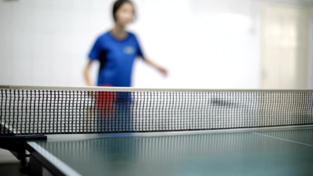 ping pong practice - table tennis stock videos & royalty-free footage