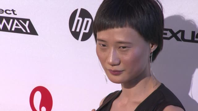 ping wu at project runway 10th anniversary party at highline on july 17 2012 in new york new york - project runway stock videos and b-roll footage