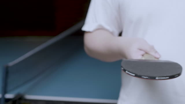 ping-pong - table tennis stock videos and b-roll footage