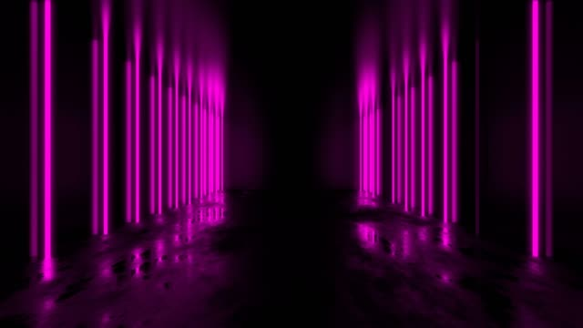 pink abstract tunnel loop - music video stock videos & royalty-free footage
