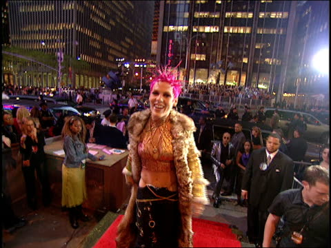 pink arriving to the 2000 mtv video music awards red carpet - 2000s style stock videos & royalty-free footage