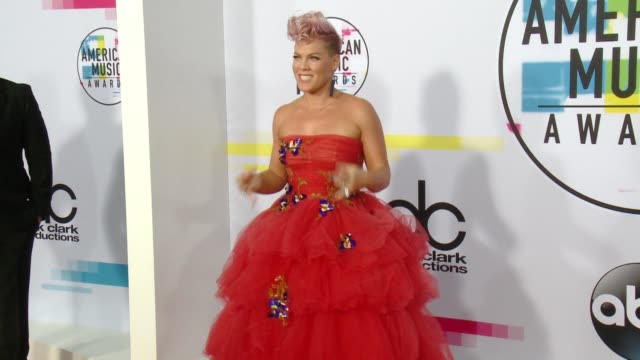 Pink at 2017 American Music Awards on November 19 2017 in Los Angeles California