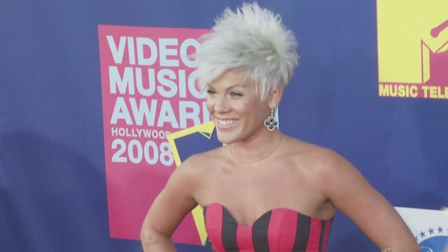 Pink at the 2008 MTV Video Music Awards at Los Angeles CA