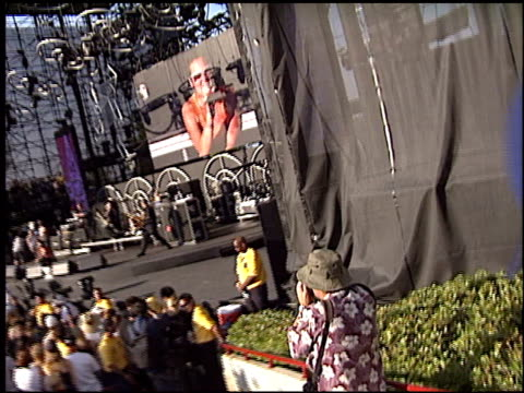 pink at the kroq weenie roast at verizon amphitheater in irvine california on june 14 2003 - kroq weenie roast stock videos & royalty-free footage
