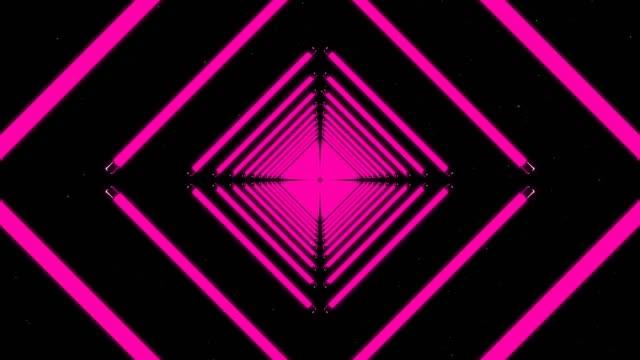 stockvideo's en b-roll-footage met roze digitale eindeloze lus - fluorescerend