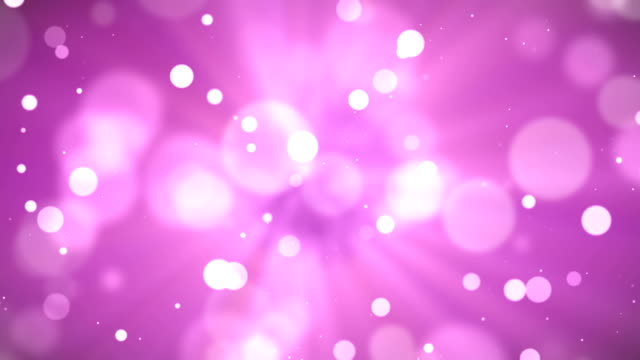Pink particle background and light rays