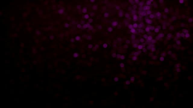 rosa partikel mörk bakgrund loopable - bildskadeeffekt bildbanksvideor och videomaterial från bakom kulisserna