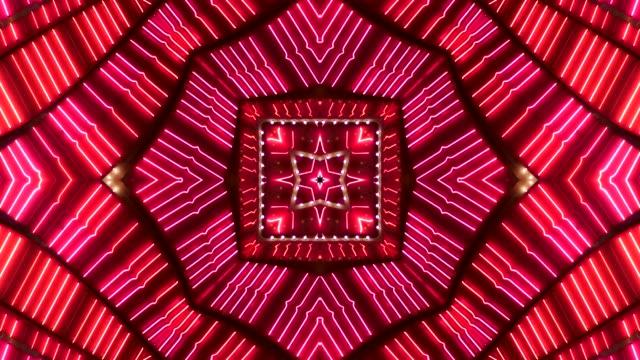 vídeos y material grabado en eventos de stock de marquesina de neón rosa y roja - las vegas, nevada - el strip las vegas