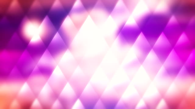 Pink sunset loopable mosaic abstract background