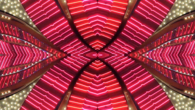 stockvideo's en b-roll-footage met pink x neon frame - las vegas, nevada - casino