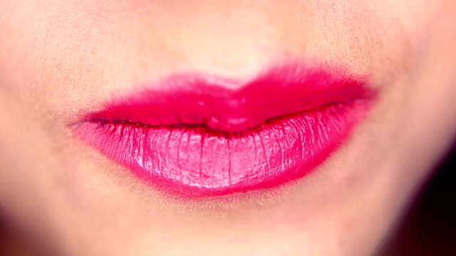 pinky lips - bubble gum stock videos & royalty-free footage