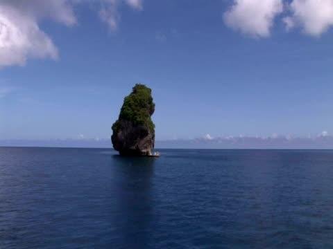 Pinnacle rock, Toku, Tonga