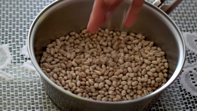 pinto beans - pinto bean stock videos and b-roll footage