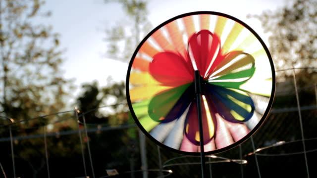 pinwheel - community garden stock videos & royalty-free footage