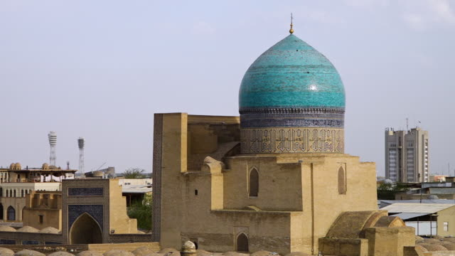 pio kalyan in city of bukhara, uzbekistan - bukhara stock videos & royalty-free footage