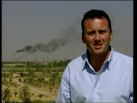 pipeline sabotage/us soldier killed in baghdad explosion; itn baghdad: i/c - sabotage stock videos & royalty-free footage