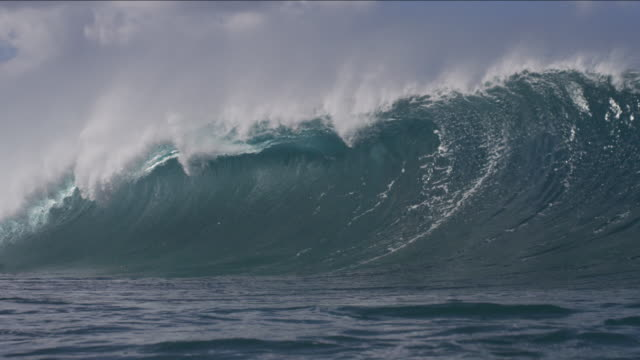 stockvideo's en b-roll-footage met pipeline waves 1-18 - oahu