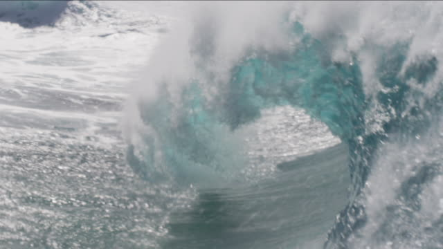 pipeline waves 1-18 - tsunami stock videos & royalty-free footage