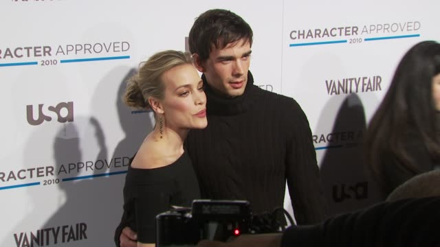 Piper Perabo and Christopher Gorham at the 2nd Annual Character Approved Awards Cocktail Reception at New York NY