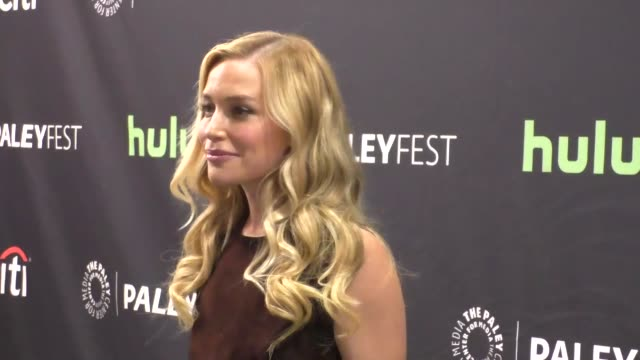 piper perabo at the paley center for media's paleyfest 2016 fall tv preview - abc at celebrity sightings in los angeles on september 10, 2016 in los... - paley center for media los angeles stock videos & royalty-free footage