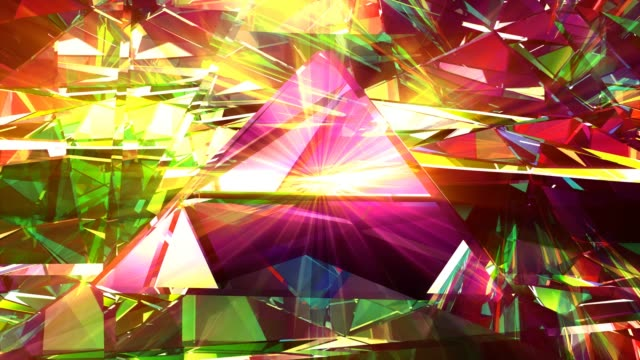 piramid abstract modern background 4k loop - digital enhancement stock videos & royalty-free footage