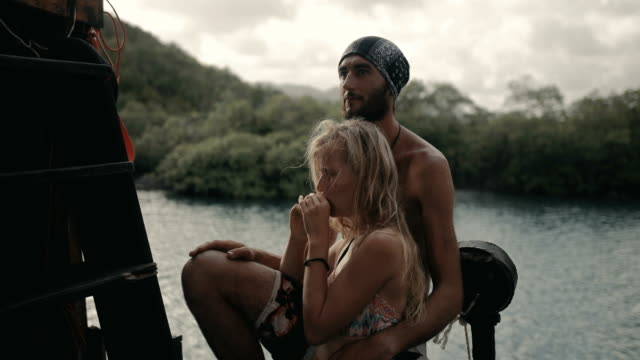 vidéos et rushes de pirate lifestyle in the caribbean - dom tom